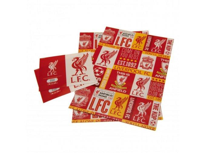Dárkový Papír Liverpool FC
