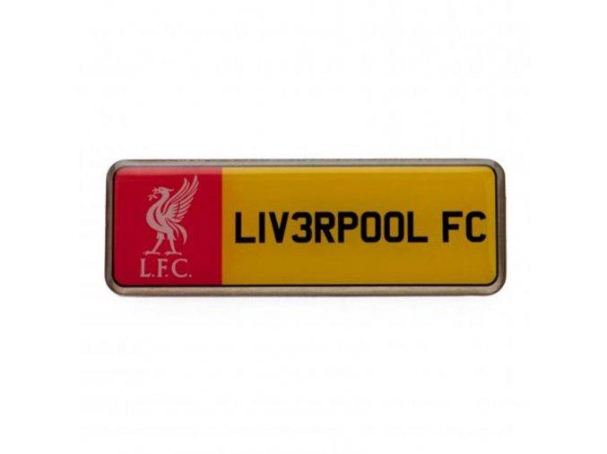 Odznak Liverpool FC Poznávací Značka