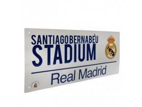 Cedule Real Madrid FC Název Ulice
