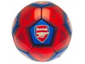 Fotbalový Míč Arsenal FC s podpisy vel. 1