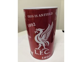 Pokladnička Liverpool FC Plechovka
