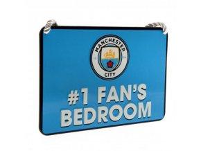 Cedule Manchester City FC Pokojíček No 1 Fan