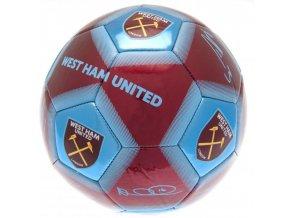 Fotbalový Míč West Ham United FC S Podpisy Hráčů