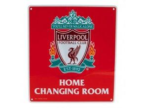 Cedule Liverpool FC Šatna
