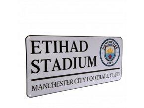 Cedule Manchester City FC Název Ulice Etihad