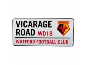 Cedule Watford FC Název Ulice