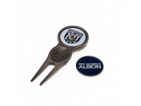 Vypichovátko West Bromwich Albion FC se dvěma markovátky