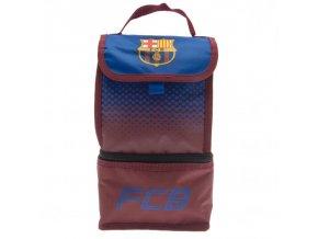 Taška Barcelona FC na svačinu s dvěma kapsami