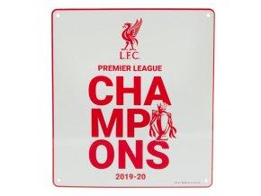 Cedule Liverpool FC Premier League Champions wt