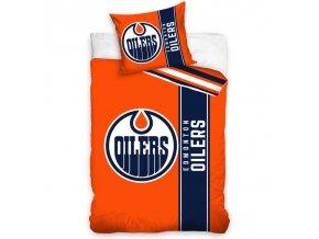 Povlečení NHL Edmonton Oilers Belt Velikost: 135x200 + 80x80 cm