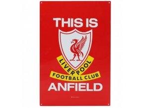 Cedule Liverpool FC TIA Velká