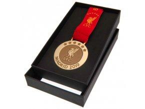 Medaile Liverpool FC Madrid 19 replika
