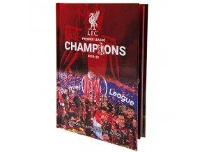 Ročenka Liverpool FC 2021 Premier League Champions