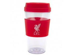Cestovní hrnek Liverpool FC průhledný lb