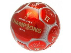 Míč Liverpool FC S Podpisy Hráčů Premier League Champions rw