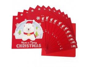 Vánoční Přání Liverpool FC Sada 12ks