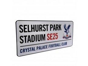 Cedule Crystal Palace FC Název Ulice