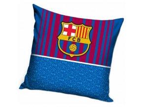 Polštářek Barcelona FC Half Blue