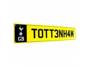 Cedule Tottenham Hotspur FC Poznávací Značka