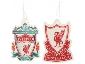 Vůně do auta Liverpool FC Sada 2ks