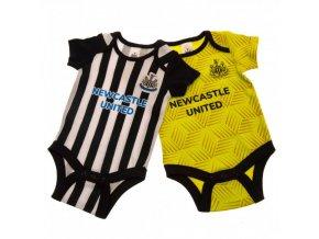 Dětské Body Newcastle United FC 6/9 měsíců - 2 kusy