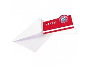 Pozvánka Na Párty Bayern Mnichov FC 8ks