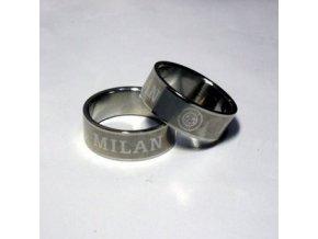 Prsten AC Milán 19 mm