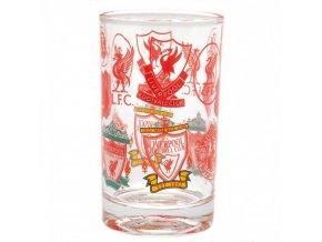 Malá Retro Sklenice Liverpool FC