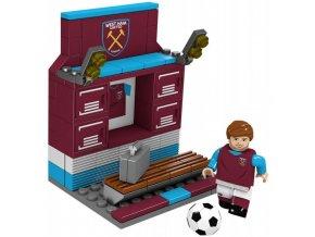 Šatna West Ham United FC z kostek