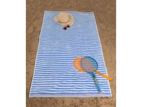Plážová osuška Marine Modrá