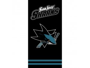 Osuška NHL San Jose Sharks Black