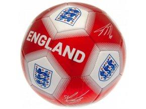 Fotbalový Míč England FA S Podpisy Hráčů