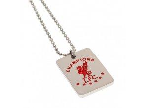 Přívěšek s Řetízkem Liverpool FC Champions Of Europe