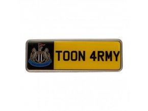 Odznak Newcastle United FC Poznávací Značka