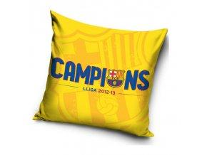 Polštářek Barcelona FC Champions