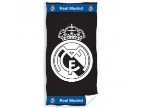 Osuška Real Madrid FC 160cm x 86cm bw