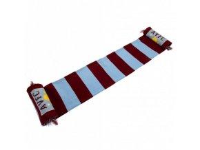 Šála Aston Villa FC Pruhovaná