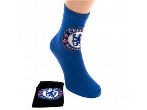 Ponožky Chelsea FC Junior 2 páry 31-36