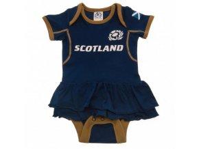 Dětské Body Skotsko Rugby 9/12 sukénka