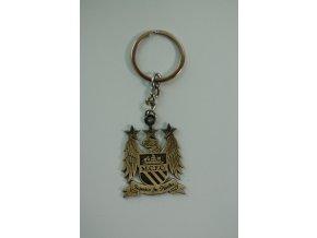 Přívěsek na klíče Manchester City - bronz