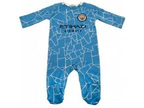 Dětské Pyžamo Manchester City FC 3/6 měsíců
