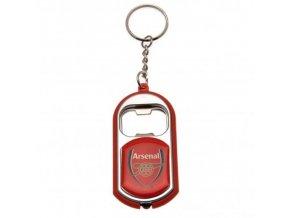 Přívěšek Arsenal FC Otvírák s Baterkou