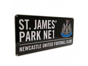 Cedule Newcastle United FC Název Ulice bk