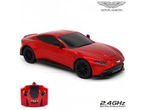 Aston Martin Auto Na Dálkové Ovládání 1:24 červené