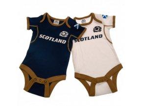 Dětské Body Skotsko Rugby 3/6 měsíců - 2 kusy