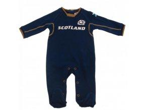 Dětské Pyžamo Skotsko Rugby 0/3 měsíců