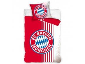 Fotbalové povlečení FC Bayern Mnichov Rote Streifen