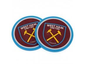 Silikonový Tácek West Ham United FC Sada 2ks