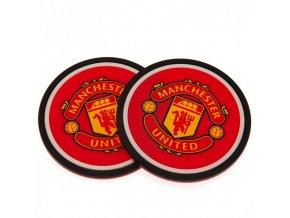 Silikonový Tácek Manchester United FC Sada 2ks