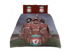 Oboustranné povlečení FC Liverpool Players Na Dvojlůžko